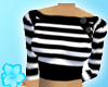 [black white stripes]