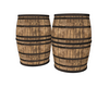 barrel  and poses