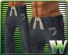 *WW* AF Sweat Pants Blue