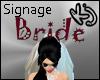 [K2J] Bride Sign .. Red