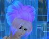 Heart Blue-Pink Hair