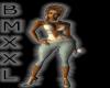 (D) BMXXL PLAIDDE WHITE