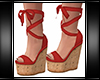 Wedges Red