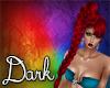 Dark Red Ponytail