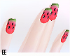!EEe Watermelon Nails
