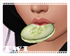 Cucumber Mouth Slice