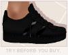 x3' Sneaker | Black