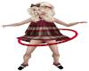 Child Hula Hoop Red