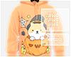 !J Shiba Pumpkin Hoodie