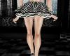 Zebra print tutu skirt