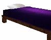 *purple single bed