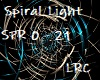 DJ Light Spiral Sil/Blue