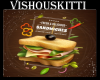 [VK] Cafe Sandwich Sign