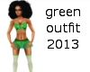 green outfit 2013