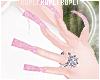 $K Glitter Nails ♥