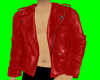 Red Biker Leather