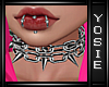 ~Y~Chain Spike Chokers