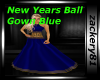 New Years Ball Gown Blue