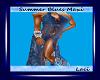 ~Summer Blues Maxi Dress