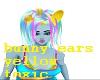 Toxic yellow bunny ears