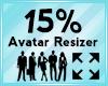 Avatar Scaler 15%
