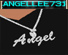 ANGEL NAME NECKLACE -MEN