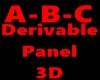 Derivable Panel 3D