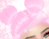 2 buns in pink
