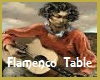 Seville Flamenco Table