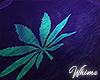 Neon Weed Rug