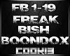 !C! - Freak Bish Boondox