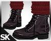 Fall Boots w/Sock Mauve