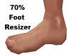 70% Foot Resizer Sizer