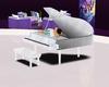 white clear piano