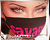 SR* Savage mask blk