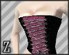 Pink Scotch bust corset