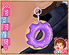 Kids Donut Earring «