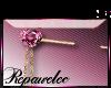 *R* Jeweled Pin Sticker