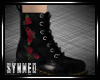 ♥ Roses Ankle Boots