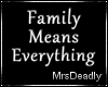 Family - Neon Sign
