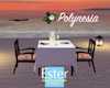 POLYNESIA Dinner table