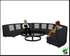 Semicircle Couch w/Poses