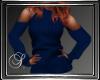 (SL) Cold Shoulder Blue