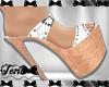 White Sandals Heels