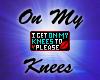 On My Knees 3k Badge