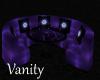 Purple Passions 8p Round