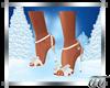 Leann White Sandals