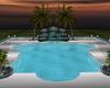A~Night pool time