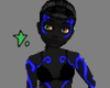 Neon Rave Skin Blue F