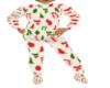 Kids footie Christmas Pj